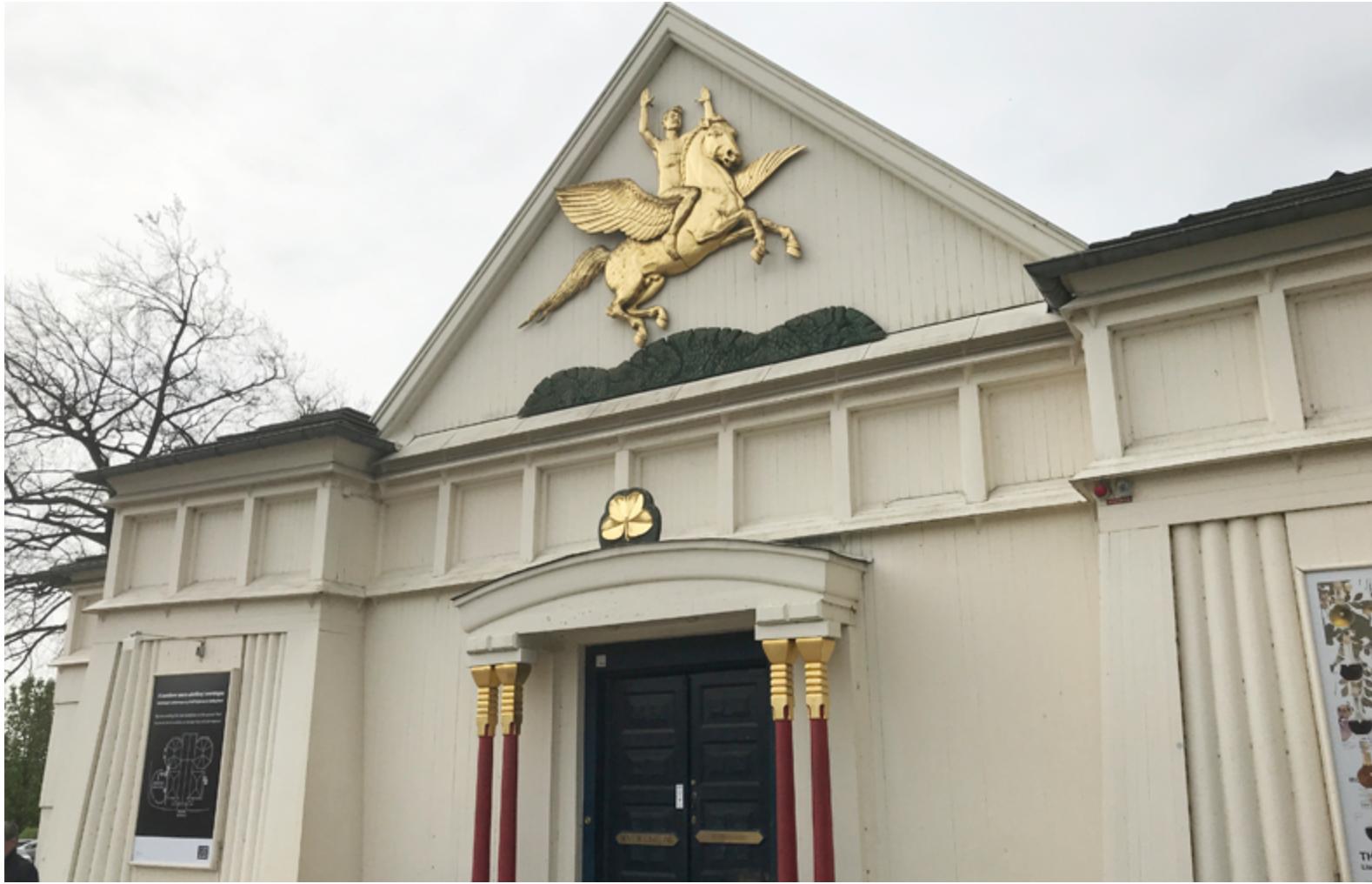 Den Fries udstillingsbygning. Foto: Ole Schwander.
